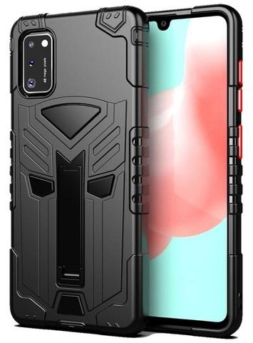 Чехол защитный для Samsung Galaxy A41 серии Dual X с магнитом и складной подставкой, Caseport
