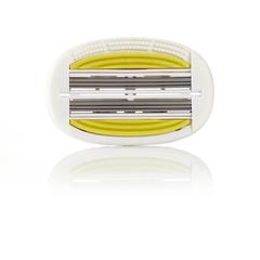 Shave Lab P.L.6+ FOR WOMEN 6 лезвий+подушечки, для женщин. Набор сменных кассет- 9 шт