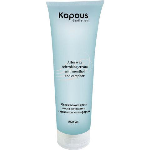 Освежающий крем после депиляции с ментолом, 250 мл Kapous