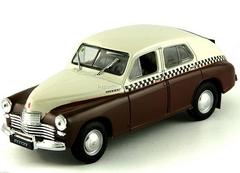 GAZ-M20 Pobeda Taxi USSR 1:43 DeAgostini Service Vehicle #5