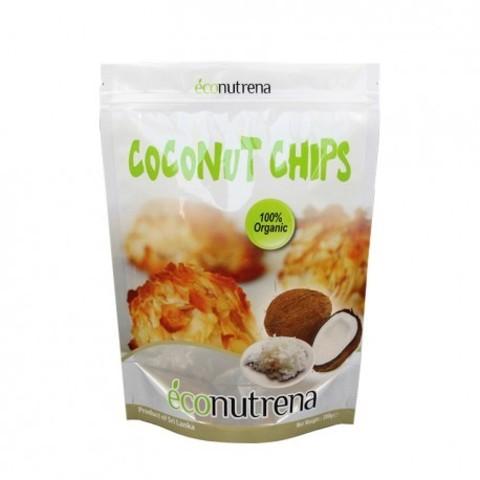 Econutrena чипсы кокосовые органические 100 г