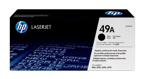 Оригинальный картридж Q5949A (№49A), чёрный