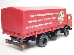 KAMAZ-5325 with awning Second World Congress of Tatars Elecon 1:43