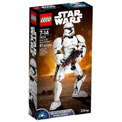 LEGO Star Wars: Штурмовик Первого Ордена 75114 — First Order Stormtrooper — Лего Звездные войны Стар Ворз