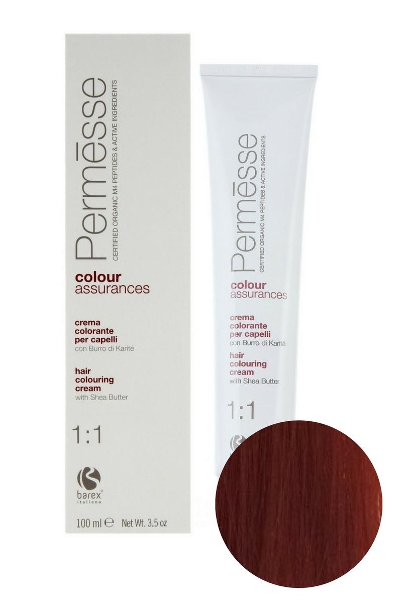 Крем-краска для волос 7.64 Блондин красно-медный Permesse, Barex
