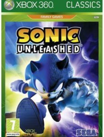 Xbox 360 Sonic Unleashed (Xbox 360 - Xbox One, английская версия)