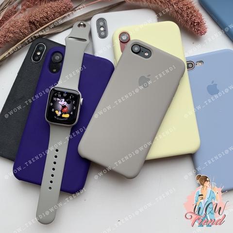 Ремешок Apple watch 38/40mm Sport Band /pebble/ ракушка