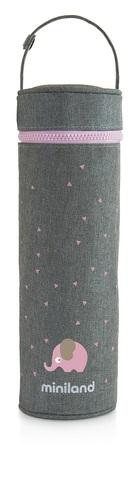 Miniland Silky Термо-сумка для бутылочек, голубой, 500 мл