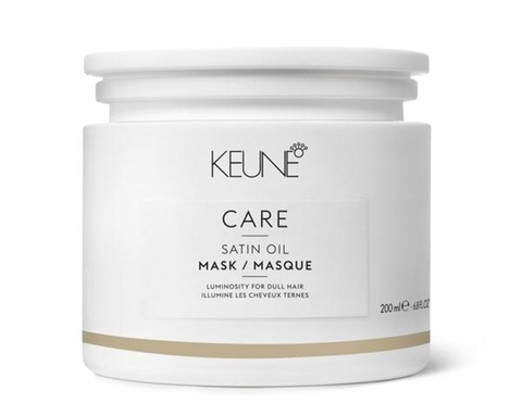 Keune Маска Шелковый уход Satin Oil Intensive treatment Care Line 200