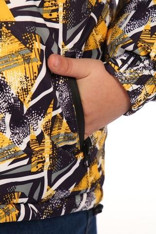 Куртка зимняя детская Форсаж (мембранная ткань) желтый