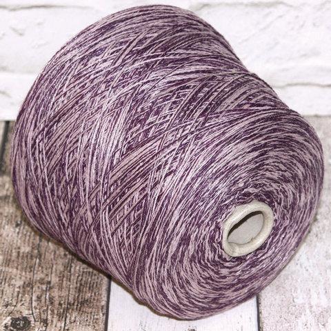 Смесовка со льном Casa Del Filato / BERRY 320 сиренево-фиолетовый