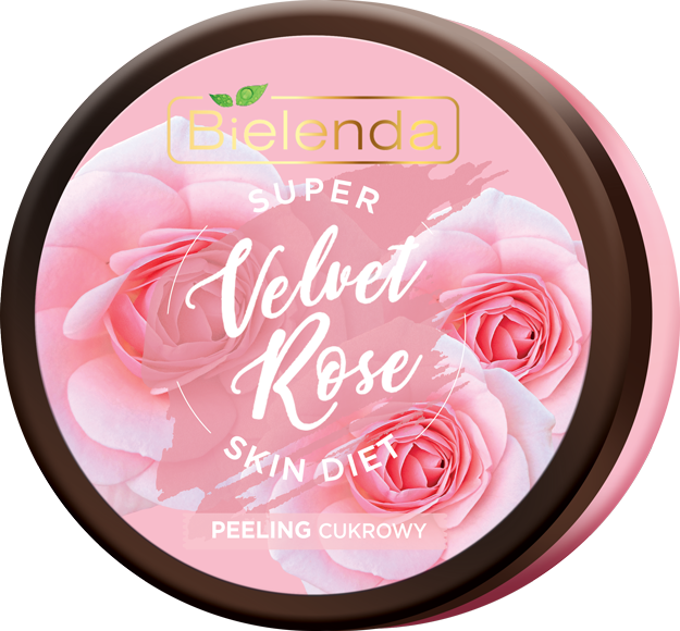 SUPER SKIN DIET Velvet Rose восстанавливающий сахарный скраб для тела Роза 350мл