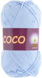 Пряжа Vita Coco 4323 светло-голубой