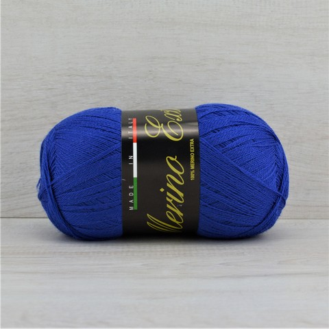 Пряжа Merino Extra (Мерино экстра) Ярко-синий