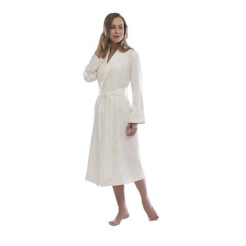 HAMPTON  женский халат кремовый  Tivolyo Home Турция