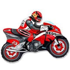F Мини-фигура Мотоцикл (красный) 14