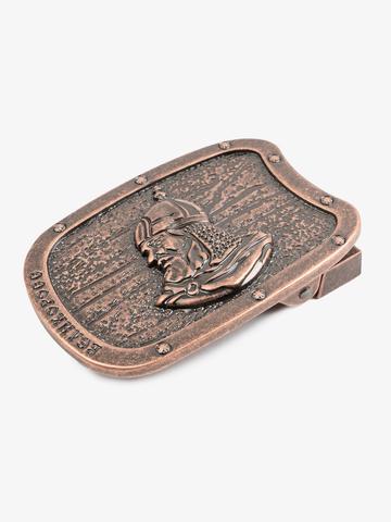 Hero's buckle color old copper
