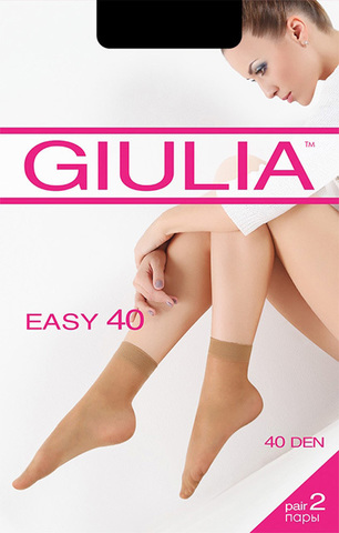 Носки Easy 40 Lycra (2 пары) Giulia