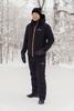 Утеплённый прогулочный лыжный лыжный костюм Nordski Pulse Black мужской
