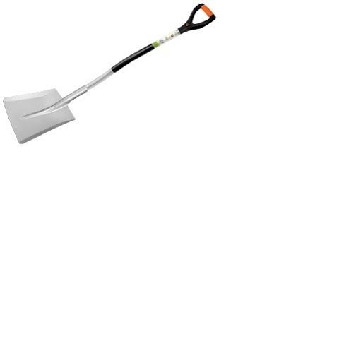 Лопата садовая совковая алюминиевая, FINLAND