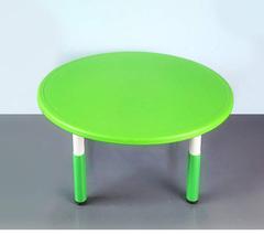Пластиковый регулируемый круглый стол