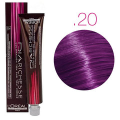 L'Oreal Professionnel Dia Richesse .20 (Intense Purple Milkshake) - Краска для волос для светлых баз