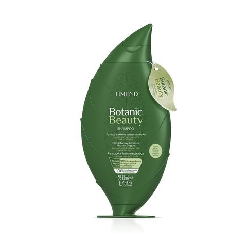 AMEND   Органический шампунь для активного укрепления волос  с экстрактами Розмарина и Имбиря, (250 мл)