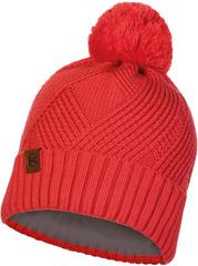 Шапка вязаная с флисом Buff Hat Knitted Polar Raisa Blossom Red