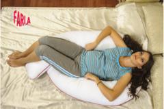 Farla. Подушка для беременных Care U150 с холлофайбером, вид 3