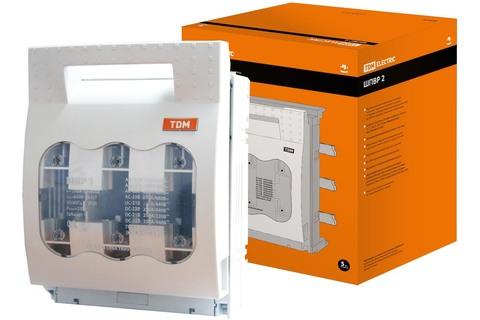 Шинный выключатель-разъединитель с функцией защиты ШПВР 2 3П 400A TDM