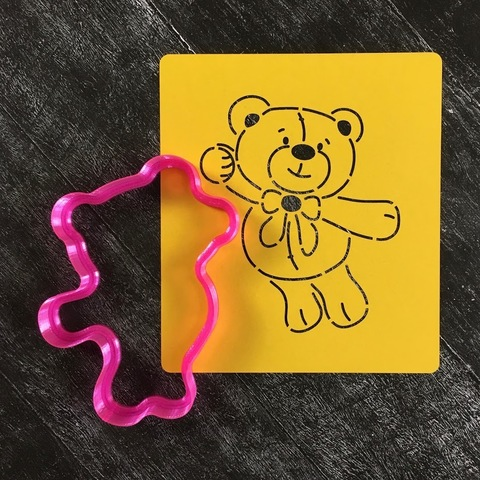 Мишка Тедди №16 с бантом