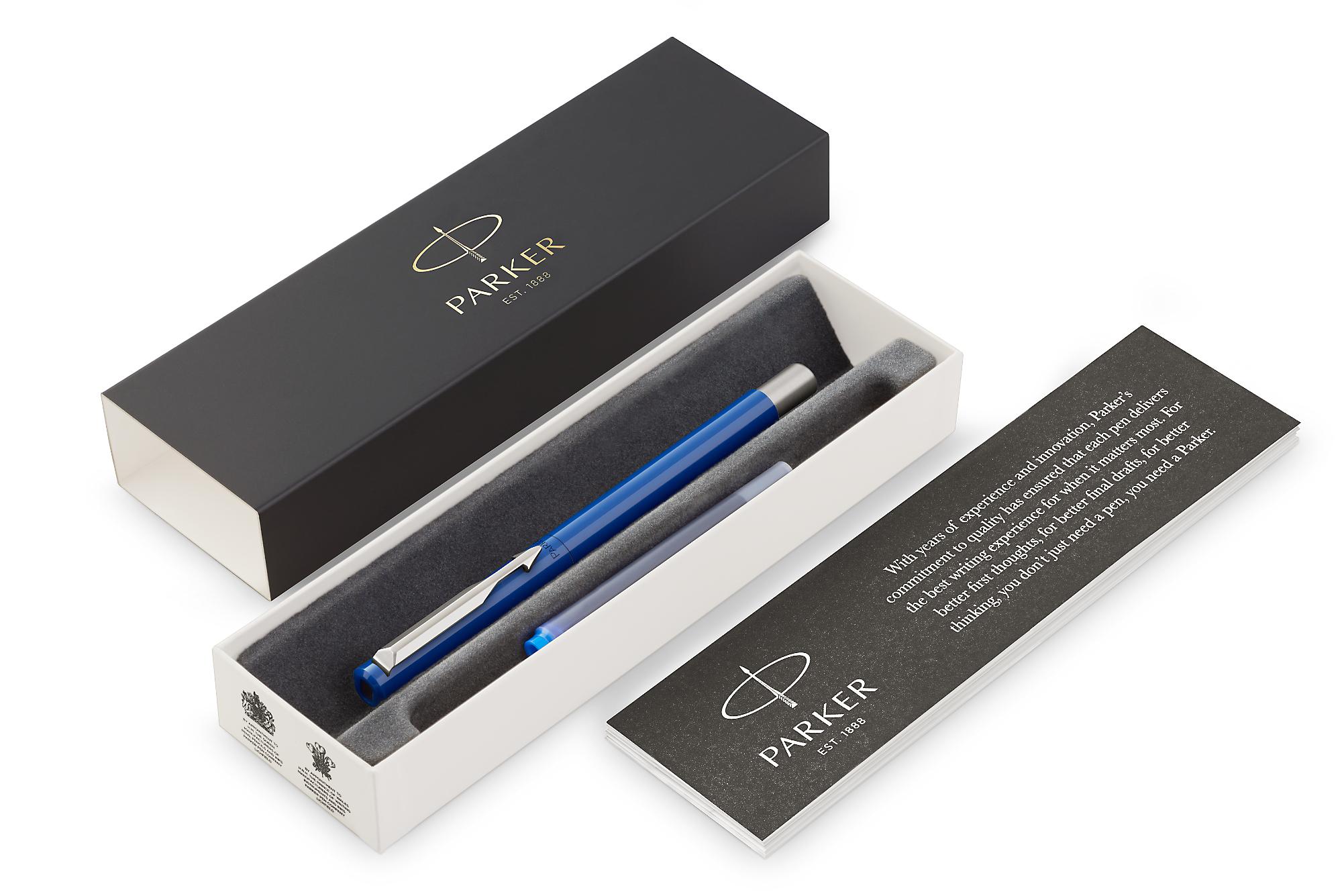 Parker Vector - Standart Blue, перьевая ручка, F