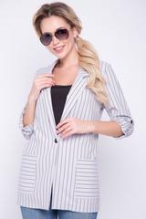 <p>Такой пиджак пригодится в гардеробе любой женщины для повседневного ношения и для деловых свиданий. Элегантность, утонченность, привлекательность и функциональность - вот основные достоинства модного образа.&nbsp;<span>(Длина: 44-74см; 46-75см; 48-76см; 50-77см; 52-78см)</span></p>