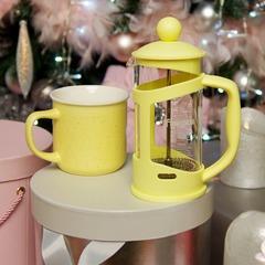 Подарочный набор: Кружка - Чайник заварочный