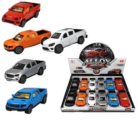 Металлическая машинка Пикап  Alloy Model Car 667 1кор*1бл*12шт