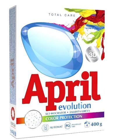 Сонца April Стиральный порошок Evolution color protection Автомат 400г