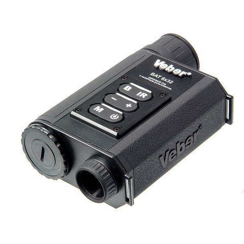 Монокуляр цифровой ночного видения Veber Bat 6x32 c дальномером