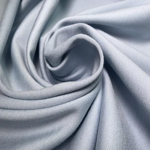Ткань трикотаж  джерси  голубой 3196