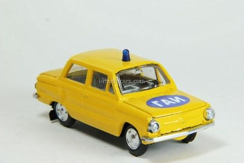 ZAZ-968A GAI Police USSR Agat Mossar Tantal 1:43