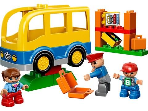 LEGO Duplo: Школьный автобус 10528 — School Bus — Лего Дупло