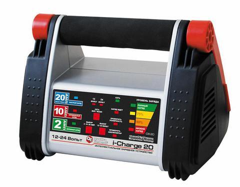 Зарядное устройство QUATTRO ELEMENTI i-Charge 20 (12В / 24В, 20/10/2 А) полный автомат (771-169)