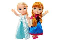 Набор кукол Эльза и Анна Холодное сердце 35 см, приключение Олафа