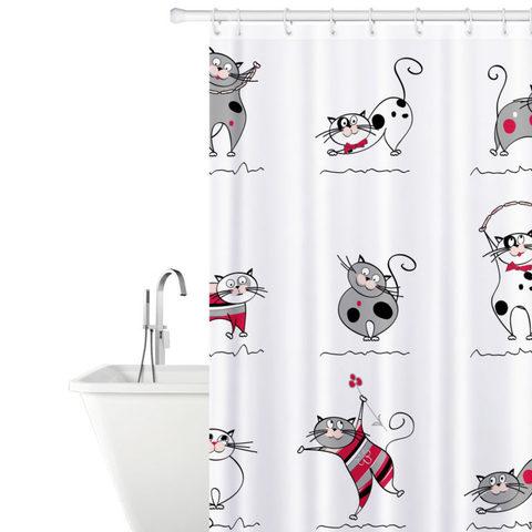Tatkraft Funny Cats Shower шторы для душа и ванны