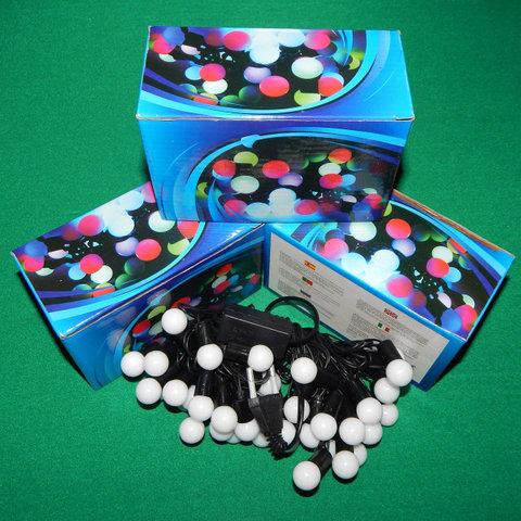 шарики круглые гирлянды LED