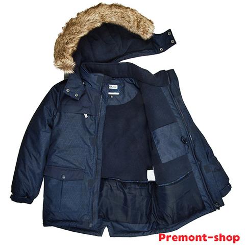 Парка Premont для мальчиков Кингстон WP82405 DARK BLUE