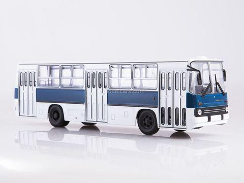 Ikarus-260 white-blue Soviet Bus (OWL) 1:43