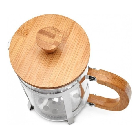 Кофейник френч-пресс Walmer Bamboo, 0,6 л, цвет светлое дерево