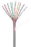 Кабель NETLAN U/UTP 10 пар, Кат 5 (Класс D), 100МГц, одножильный, BC (чистая медь), внутренний, PVC нг(B), серый, 305м, купить оптом по низкой цене