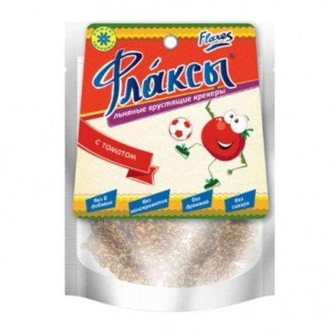 Флаксы с томатом, 90 гр. (Компас Здоровья)