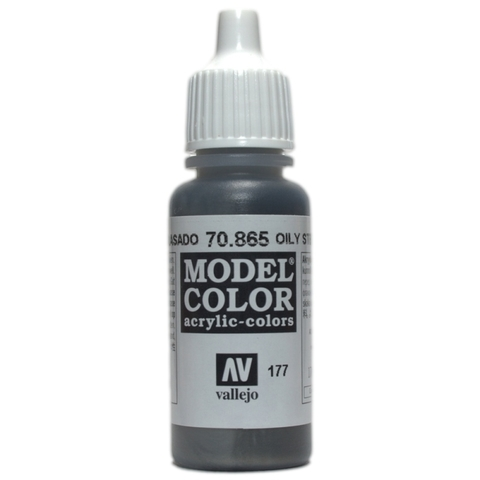 Model Color Oily Steel 17 ml.
